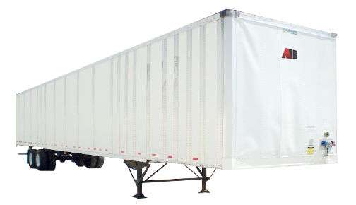 53' Box Semi-Trailer rental