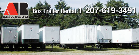 Box Trailer Rentals in Portland ME