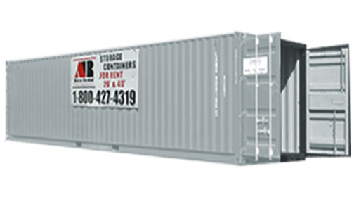 Storage Rental Containers Rent a 40ft Storage Container for 10000mo